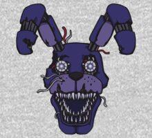 Five Nights at Freddy's - FNAF 4 - Nightmare Bonnie One Piece - Long Sleeve