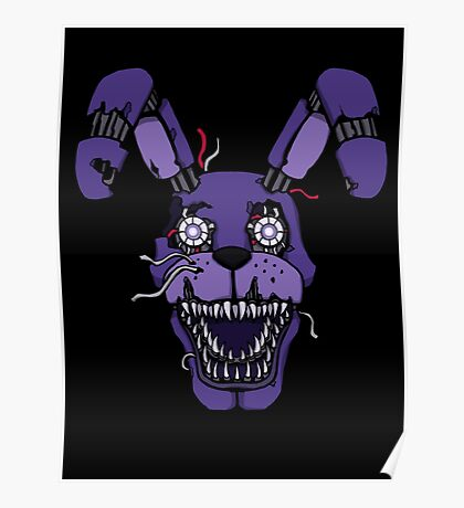 Five Nights at Freddy's - FNAF 4 - Nightmare Bonnie Poster