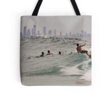 Surf City Tote Bag