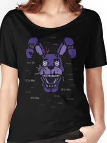 Five Nights at Freddy's - FNAF 4 - Nightmare Bonnie - It's Me Women's Relaxed Fit T-Shirt
