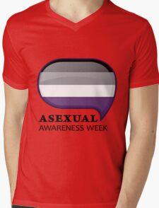 AAW Logo Mens V-Neck T-Shirt