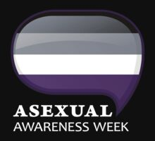 AAW Logo (Dark) by Asexual Awareness Week