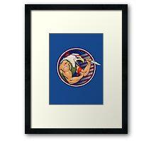 Eaglebro Framed Print