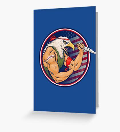 Eaglebro Greeting Card