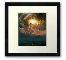 Sky Horse Framed Print