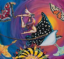 Leaping Lilly Fish  by Malia Budlong