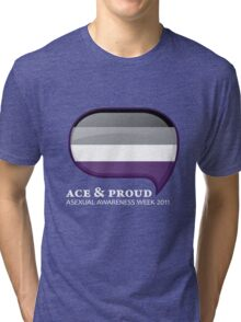 AAW Ace & Proud (Dark) Tri-blend T-Shirt