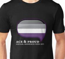 AAW Ace & Proud (Dark) Unisex T-Shirt