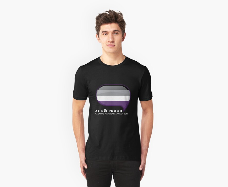 AAW Ace & Proud (Dark) by Asexual Awareness Week