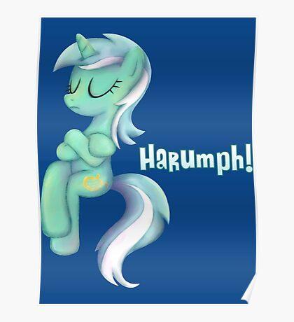 My Little Pony - MLP - Lyra Sitting Poster