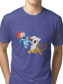 My Little Pony - MLP - Filly Rainbow Dash and Gilda Tri-blend T-Shirt