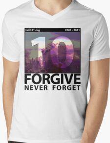 Forgive: 9/11 Ten Year Anniversary Mens V-Neck T-Shirt