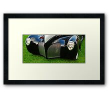 Too Late Too Compete Framed Print