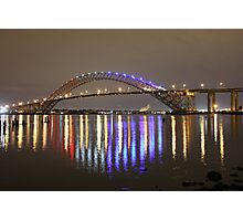 Bayonne Bridge Photographic Print
