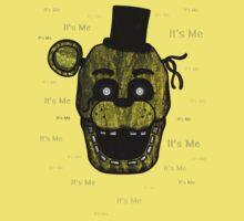 Five Nights at Freddy's - FNAF 3 - Phantom Freddy - It's Me Kids Tee