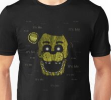 Five Nights at Freddy's - FNAF 3 - Phantom Freddy - It's Me Unisex T-Shirt