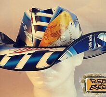 """The """"case"""" for Cowboy Beer Box Hats by shakiamen26"""