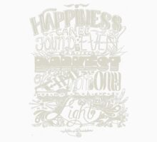 Happiness can be Found in the Darkest of Times (Light) Kids Clothes