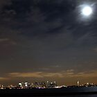 Full Moon Over Nyc by Nycon360