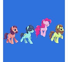 My Little Pony - MLP - Pinkie Pie and The Beatles Photographic Print