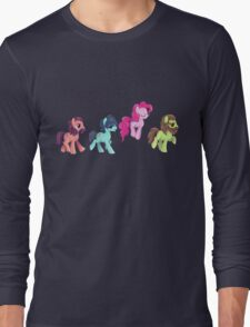 My Little Pony - MLP - Pinkie Pie and The Beatles Long Sleeve T-Shirt