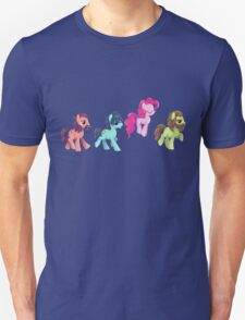My Little Pony - MLP - Pinkie Pie and The Beatles T-Shirt