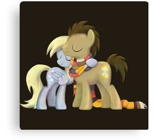 My Little Pony - MLP - Derpy and The Doctor Canvas Print
