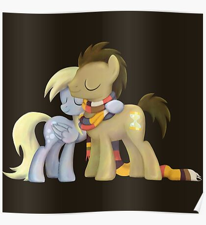My Little Pony - MLP - Derpy and The Doctor Poster