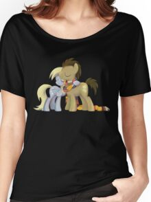 My Little Pony - MLP - Derpy and The Doctor Women's Relaxed Fit T-Shirt