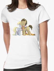 My Little Pony - MLP - Derpy and The Doctor Womens Fitted T-Shirt