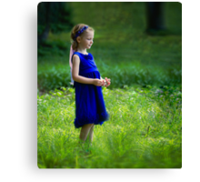 Little Princess Canvas Print