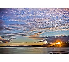 Sunset, Sound of Sleat Photographic Print