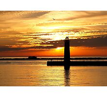 Summer Sunset Photographic Print