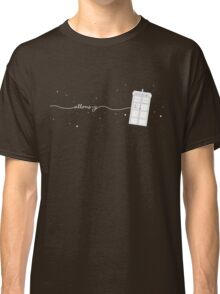 Allons-y to the TARDIS Classic T-Shirt