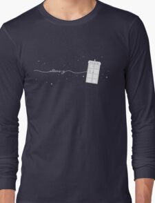 Allons-y to the TARDIS Long Sleeve T-Shirt