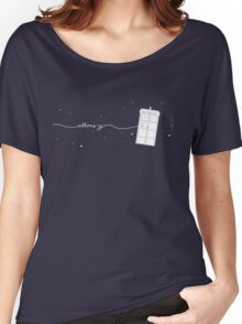Allons-y to the TARDIS Women's Relaxed Fit T-Shirt