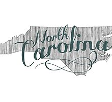 North Carolina State Typography by surgedesigns
