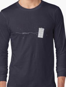 Geronimo to the TARDIS Long Sleeve T-Shirt