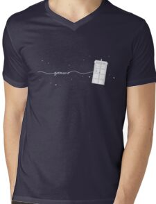 Geronimo to the TARDIS Mens V-Neck T-Shirt