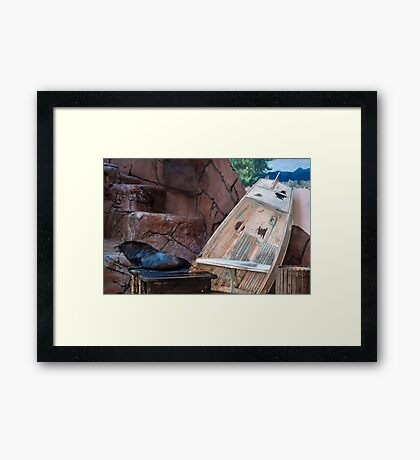 What A Life! Framed Print