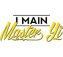 I Main Master Yi Photographic Print