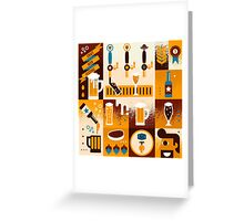 Craft Beer Concept Greeting Card