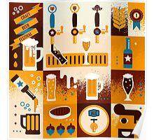 Craft Beer Concept Poster