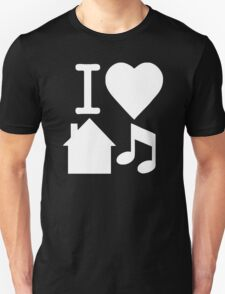 I Love House Music DJ T-Shirt