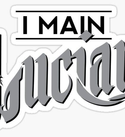 I Main Lucian Sticker