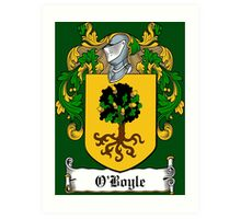 O'Boyle (Donegal)  Art Print