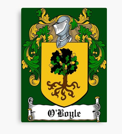 O'Boyle (Donegal)  Canvas Print