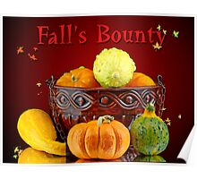 Fall's Bounty Poster