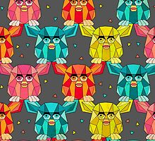 Invasion of the Geometric Furby by littleknids