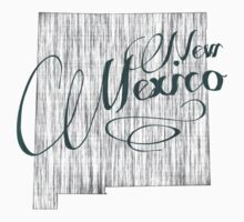 New Mexico State Typography One Piece - Short Sleeve